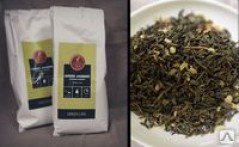 Зеленый чай с жасмином GreenLine листовой 250 гр.